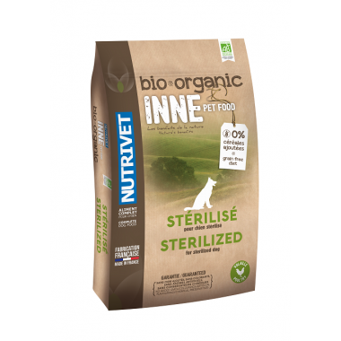 INNE PET FOOD BIO CHIEN - STERILISE 12 KG