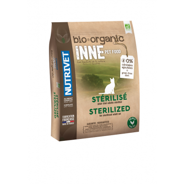 INNE PET FOOD BIO CHAT STERILISE 1.5 KG