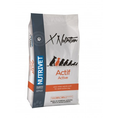 X NUTRITION Actif 28 18 - 20 KG